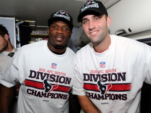 Andre Johnson and Matt Schaub (HoustonTexans.com)